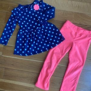 Dress with matching pants